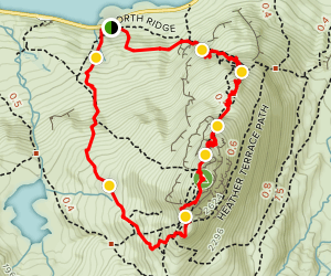 The Glyderau - Tryfan (Stegosaurus) Map