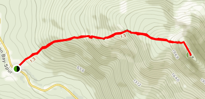 Pyramid Mountain Trail Map