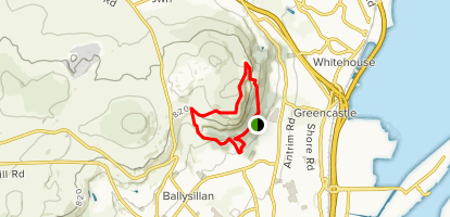 Cavehill Trail Map