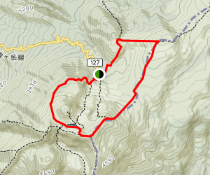 Mt. Onama-dake and Mt. Yoko-dake Loop Map