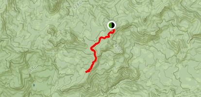 Gordan Peak Trail Map
