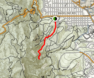 Royal Arch Trail Map
