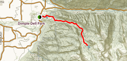 Upper Bells Canyon Trail Map