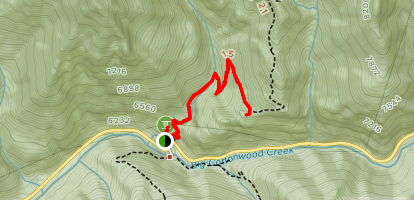 Lower Mill B North Fork Trail Map