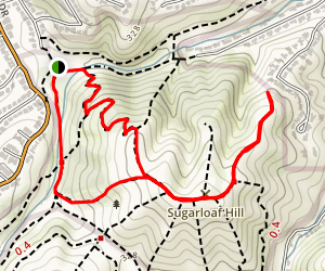 Sugarloaf Hill Map