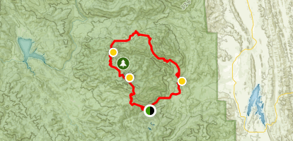 Snow Mountain Wilderness Loop Map