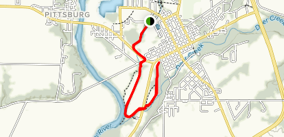 Underhill and Vanscoy Townpath Trail Map