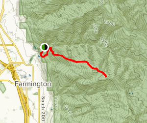 Farmington Spine Trail Map