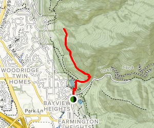 Farmington Upper Terrace Trail Map