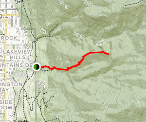 Triumph Trail Map