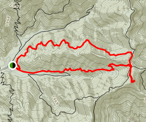 North and South Old Mac Mountain Loop Map