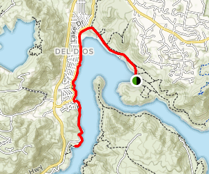 Lake Hodges Coast to Crest Trail Map