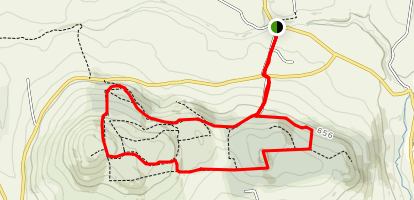 Darragh Hills Loop Map