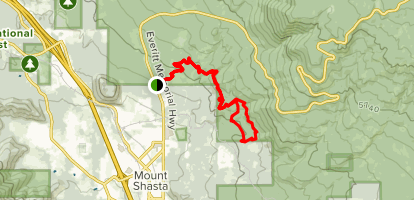 Gateway Trail and Tunnel Trail Loop Map