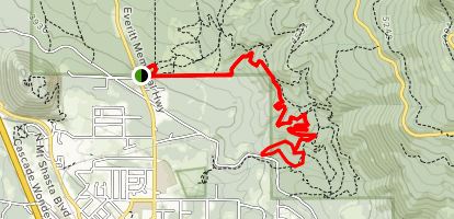 Gateway Trail, Marley Trail, Tunnel Trail, My Trail Loop Map