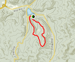 Red House Lake Area Trail Map