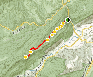 Roaring Branch Trail Map