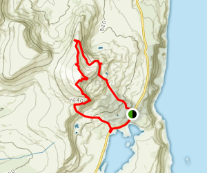 Needle Rock, The Storr and The Old Man of Storr Map