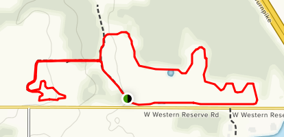 Mill Creek Preserve Loop Map