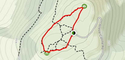 Slieve Coillte Lookout Map