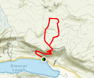 Doneens and Hudson's Walk Map
