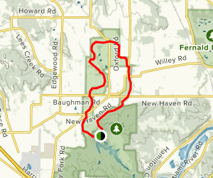 Shaker Trace Outer Loop Map