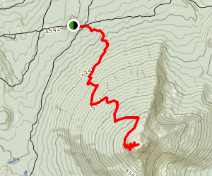 Olallie Butte Map