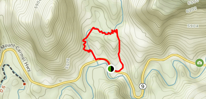 Keyhole Canyon Loop Map