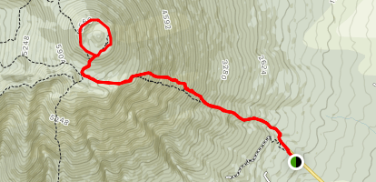 Mount Iwate Map