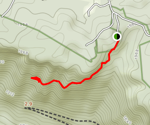 Headhouse Trail Map