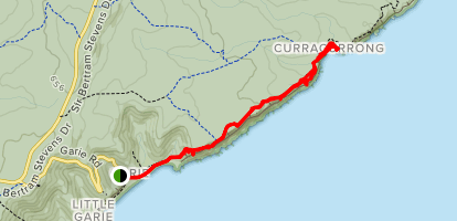 Coast Track: Garie to Eagle Rock Map