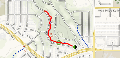 The Bluffs Trail Map