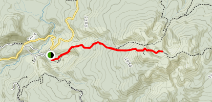 Mount Yakiyama Map