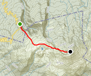 Mount Chokai Map
