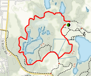 Leather Leaf Bog Trail Map