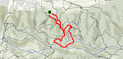 Polovak Peak Map