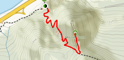Mitchell Point Trail Map