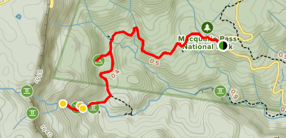 Clover Hill Trail Map