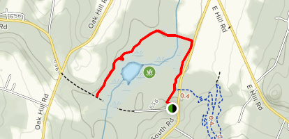 Mud Pond Conservation Area Trail Map