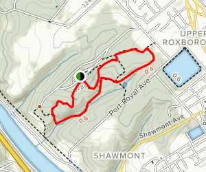 Ravine and Gray Fox Trails Loop Map