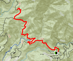 Brown Mountain Road Map