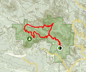 Old Mill and Bulging Elk Trail Map