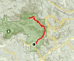 Mason Creek Trail  Map