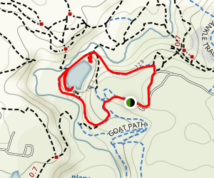 Blue Lake Circuit Map