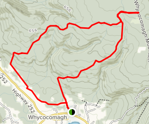Whycocomagh Mountain Trail Map