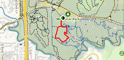 Yellow and Purple Trail Loop Map