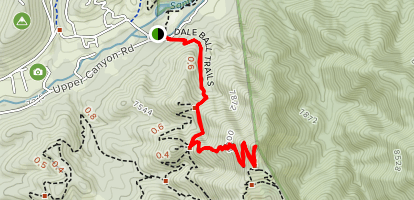 Picacho Peak Trail Map