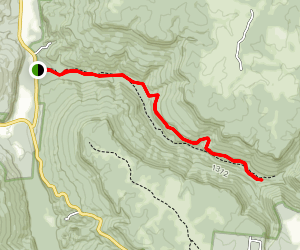 Prater Place and Hemlock Falls Trail Map