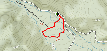 "Noah ""Bud"" Ogle Self-Guiding Trail Map"