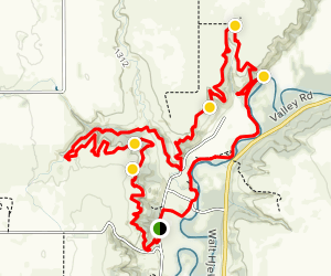 Fort Ransom State Park Loop Map